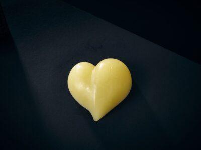Luxury Soap Adore Love Heart Closeup
