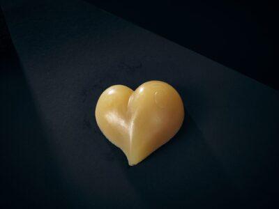 Luxury Soap Devotion Love Heart Closeup