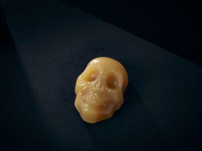 Luxury Soap Devotion Sugar Skull Closeup