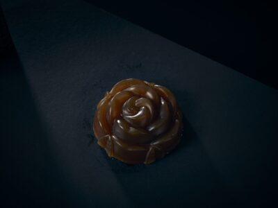 Luxury Soap Love English Rose Closeup
