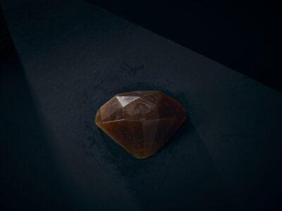 Luxury Soap Love Light Diamond Closeup