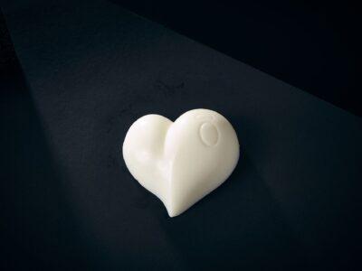 Luxury Soap Passion Love Heart Closeup