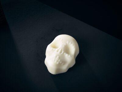 Luxury Soap Passion Sugar Skull Closeup